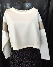 Blizedout White Top Size M Made In Italy ���� Unic!!! On Clearance Now!!!