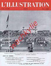 L'illustration n°5177 du 30/05/1942 art déco Lacroix-Laval Dauphiné francisque