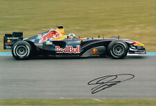 David Coulthard Hand Signed Red Bull Racing Photo 12x8 4.