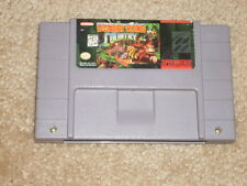 ***DONKEY KONG COUNTRY 1 SNES SUPER NINTENDO GAME***