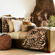 NIP Ralph Lauren Victoria Falls Animal Print King Duvet Cover Set
