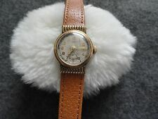 Vintage York Wind Up Ladies Watch with a Leather Band - Not Working