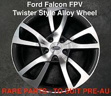 4 x TWISTER FPV Style 19 inch Alloy Wheel Titanium Ford Falcon EB ED EF EL XG XH