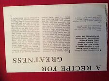 m76c ephemera 1968 article film guess who's coming to dinner kramer tracy poitie