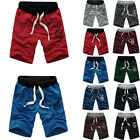 Men Cotton Shorts Sports Dance Gym Trousers Training Baggy Jogging Casual Shorts