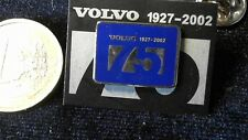 Volvo Pin Badge 75 Years Jahre 1927-2002 Jubiläum Birthday