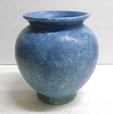 Roseville Vintage Vase-Matte Blue