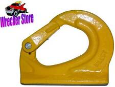 3 Ton Grade 80 Weld on Anchor Hook for wrecker, crane, tractor, rigging, lifting