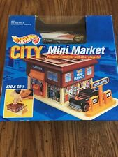 Hot Wheels 1991 City Mini Market White Passion