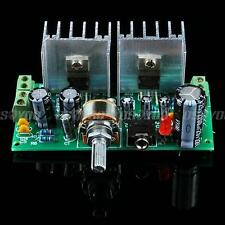 AC 12V TDA2030A Dual Channel 10W*2 HIFI Stereo Audio Power Amplifier Board Kits