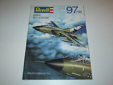 "VINTAGE MODEL KIT REVELL 1997 CATALOGUE ""MODELBOUWDOZEN"" '97/'98"