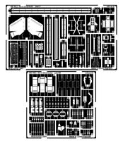 EDUARD 1/35 PE PHOTO-ETCHED DETAIL SET for TAMIYA M4 SHERMAN #35190
