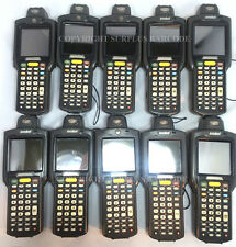 Lot of (10) Motorola Symbol MC3090R-LC38S00GER Laser Wireless Barcode Scanners