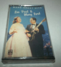 Les Paul & Mary Ford- More Great Hits- Cassette SEALED