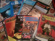 JOBLOT De Fantasía Juego de Rol revistas, enana blanca, nminiature Wargames, torturados