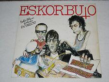 ESKORBUTO/ IMPUESTO REVOLUCIONARIO 2 LP´S EN VIVO SPANISH PUNK ORIGINAL ISSUE
