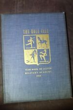 Vtg 1941 Culver Military Academy Yearbook Actor Hal Holbrook The Role Call