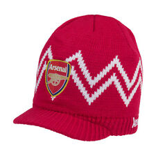 Arsenal Visor Beanie Cap Hat  By Rhinox