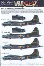 Kits World Decals 1/72 BOEING B-17 FLYING FORTRESS from the Movie MEMPHIS BELLE