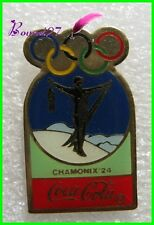 Pin's pins Badge Coca Cola Jeux Olympique Chamonix 1924 #H3