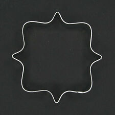 "PLAQUE FRAME 4.5"" METAL COOKIE CUTTER FONDANT STENCIL PARTY FAVORS DECORATING"
