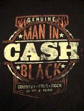 Johnny Cash Man in Black Album Art Classic Rock Collectibles T Shirt L