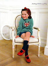 PATTERN KNITTING CHILD 4-10yr UNION JACK SWEATER & CROCHET SOFT TOY ZEBRA KM M8A