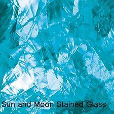 """8 X10"""" Spectrum Glass Sheet S 533-1A - Sky Blue Artique Stained Glass Sheet"""