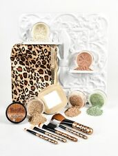 FAIR 2 Leopard Kit w Brush Set & Bag Mineral Makeup Bare Skin Powder Foundation