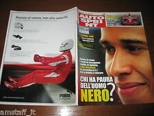AUTOSPRINT 2007/18=LEWIS HAMILTON=CUORE KATAYAMA=RALLY ARGENTINA=MORTE ROSSETTO