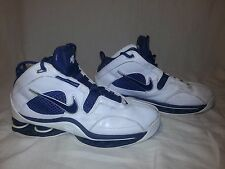 Nike Flight Shox Blue & White Basketball Shoes Men's SIZE 8