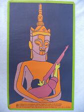 OSPAAAL Political Poster LOAS SITTING STATUE RIFLE 1969 RAFAEL ZARZA CUBAN ART
