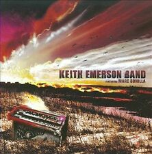 Audio CD: Keith Emerson Band Featuring Marc Bonilla, Keith Emerson Band, Marc Bo