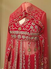 LOVELY INDIAN BOLLYWOOD  COLLECTION BRIDAL LENGHA GOWN DRESS Swarvoski Work