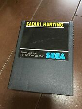 SAFARI HUNTING SEGA MASTER SYSTEM SG 1000 SC 3000 JAPAN MARK 3