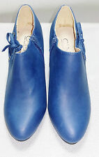 Boots C'M simili cuir bleu canard 38