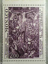 MONACO 1972, timbre 909, TABLEAU FRESQUE CANAVESIO, PAINTING, neuf**, VF MNH