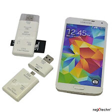 2 in 1 USB OTG TF Micro SD Memory Card Reader for Android Phone Galaxy S5 N3/PC