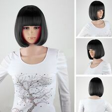 Black SEXY FASHION LADIES BOB STYLE SHORT WIG PARTY FANCY DRESS COSTUME COSPLAY