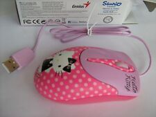 Mouse Optical USB Genius NetScroll 310 HK Hello Kitty Pink Genuine New