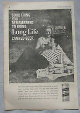 Ind Coope Long Life canned beer Original advert