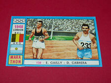 N°138 GAILLY CABRERA PANINI OLYMPIA 1896 - 1972 JEUX OLYMPIQUES OLYMPIC GAMES