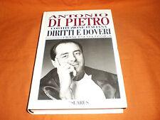 Di Pietro- costituzione italiana Diritti E Doveri pref. di cossiga ediz. larus