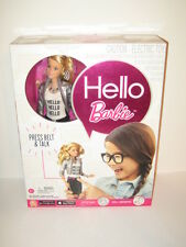 Hello Barbie Blonde Doll Electric Talking Toy in the Box