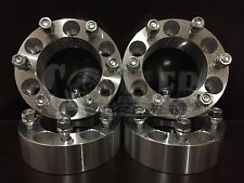 """Wheel Spacers 2"""" Fit Toyota Tundra Aluminum Set of 4 Adapter 6x5.5 6 Lug Pickups"""