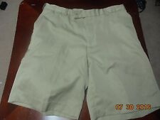 LYLE & SCOTT Scotland Golf, Casual Shorts Flat Front 100% Polyester Size 34
