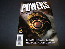 SIGNED MICHAEL AVON OEMING POWERS #6 ICON COMICS SERIES BY BRIAN BENDIS