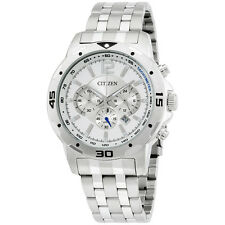 Citizen Silver Dial Stainless Steel Men's Watch AN8100 54A