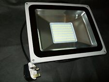 100W LED Floodlight. PLUG AND LEAD 100 Watt. 100W.Plug  Also150W/100W/.