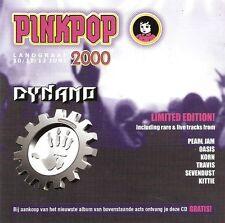 PEARL JAM - Pinkpop Dynamo Sampler CD promo live Oasis Korn Travis rock 2000